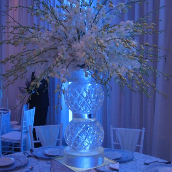 table centerpiece ice sculptures ice dreams