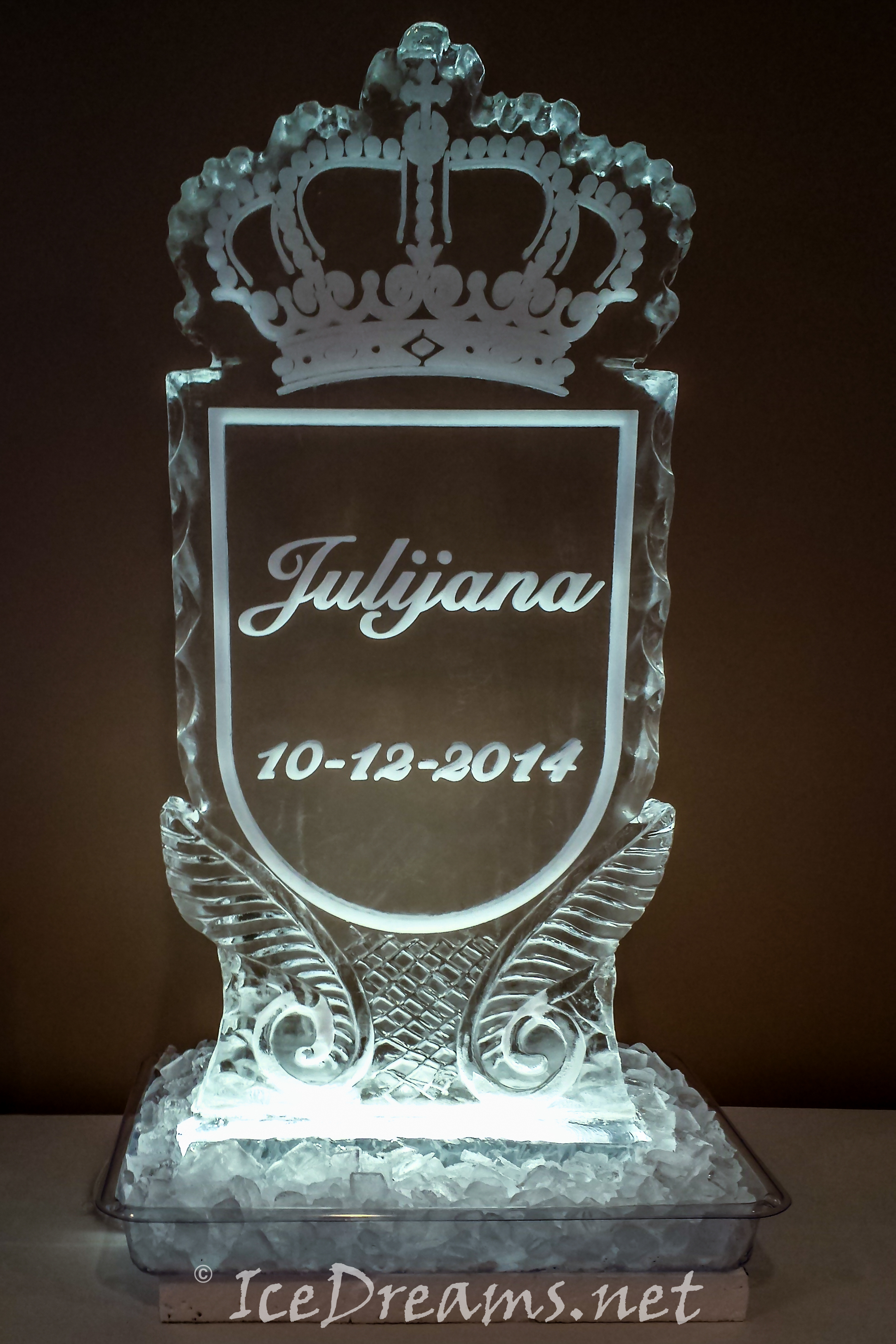 Baby Shower Ice Sculptures Ice Dreams