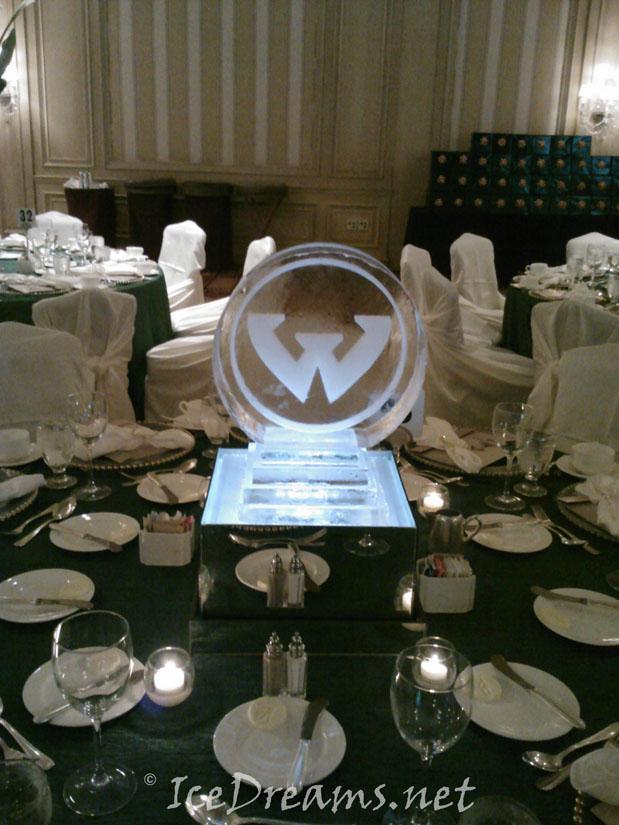 Table centerpiece ice sculptures archives dreams
